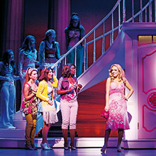 Legally Blonde talk Concorde, Cleethorpes and working in the West End