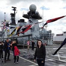My Trip Aboard HMS Illustrious