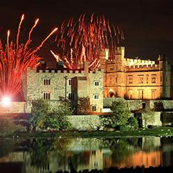 Leeds Castle, Fireworks