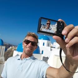 Man taking a selfie