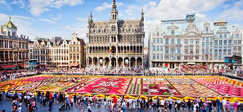 Brussels Flower Carpet