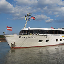 Caroline explores the MV Esmeralda