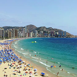 Coach Holidays To Benidorm