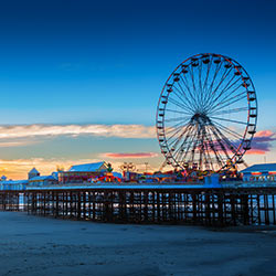 Coach Holidays to Blackpool