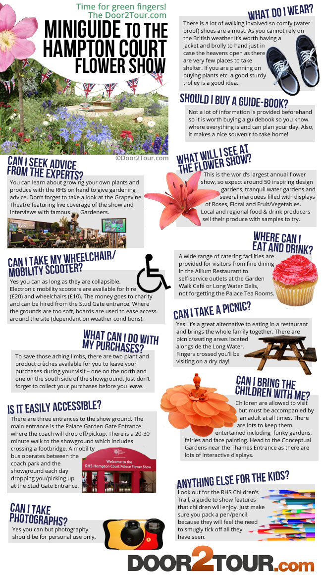 Hampton Court Flower Show Miniguide