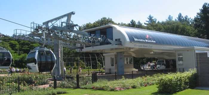 Cable Car Station at Floriade 2012