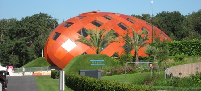 The Netherlands Pavilion at Floriade 2012