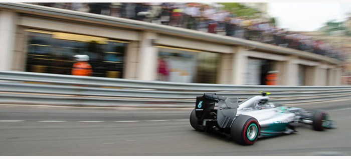 Mercedes Car in Monaco