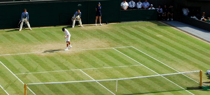 Djokavic on Centre Court