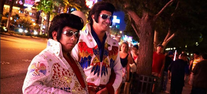 Elvis Impersonators in Vegas