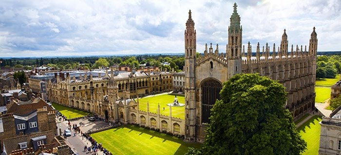 Cambridge Uni and Kings College Chapel