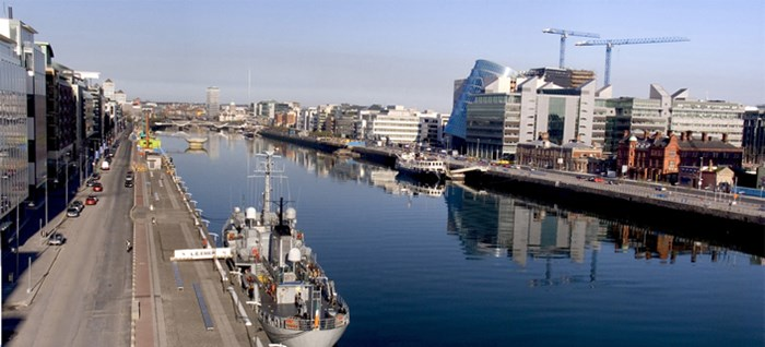 Dublin City Docks