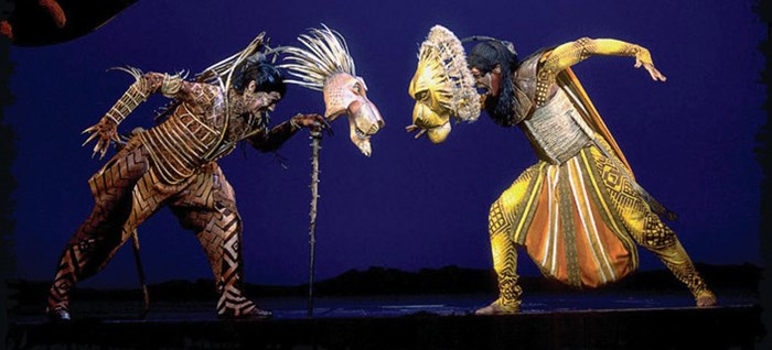 Lion King The Musical Theatre Breaks By Coach