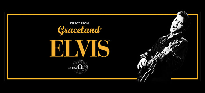 Elvis at the O2 coach packages