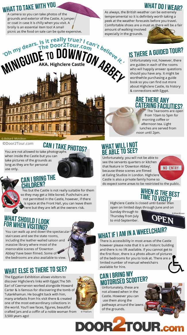 Are there any available tours of Highclere Castle?