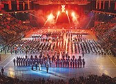 Experience the military spectacular of the Birmingham Tattoo