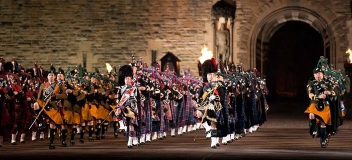 Massed Pipers & Drums