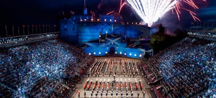 Edinburgh tattoo packages coach holidays and trips 2018 for Royal edinburgh military tattoo