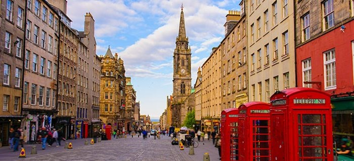 Street View of Edinburgh