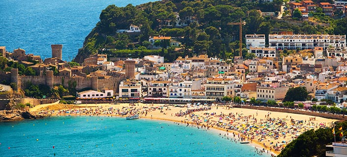 Tossa de Mar Coach Holidays Tours Trips Door2Tourcom