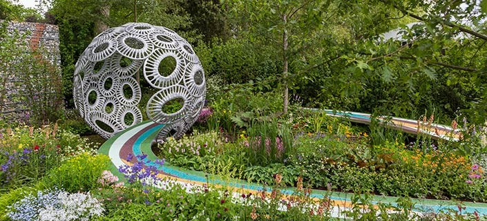 Chelsea flower show coach trip packages 2019 for Chelsea 2017 show gardens