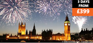 New Year Dine & Thames River Cruise