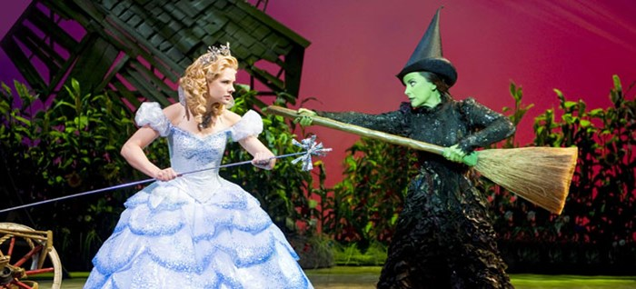 Elphaba & Glinda in the Cornfield